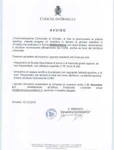 Comune di Ormelle - Avviso