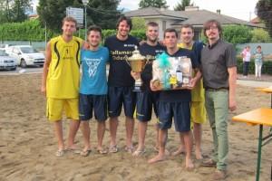 Beach Handball Marano: Pallamano Oderzo 1° classificato