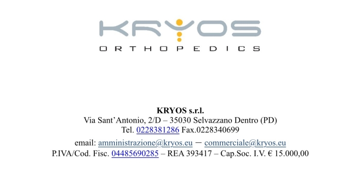 Kryos Orthopedics