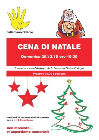 Pallamano Oderzo - cena di Natale 2015