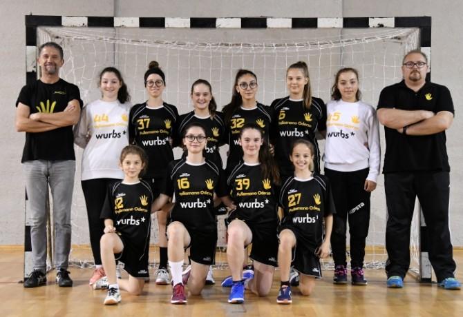 Under 15 femminile Wurbs Pallamano Oderzo - Stagione 2018/2019