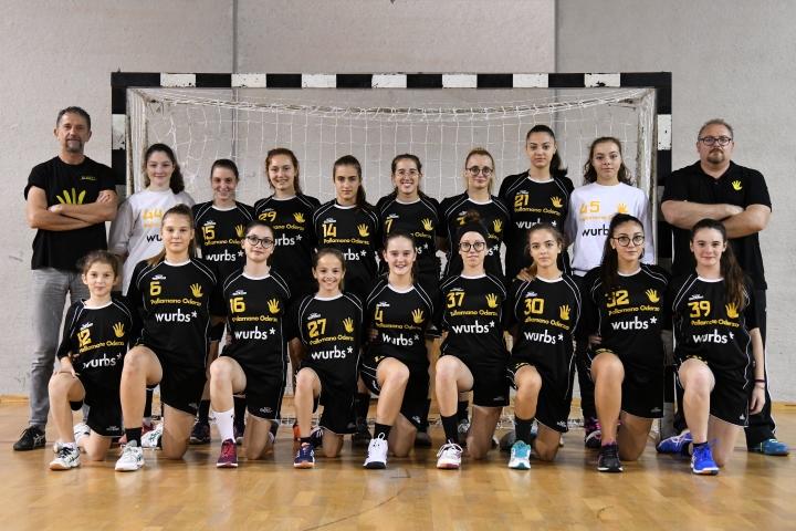 Under 17 femminile Wurbs Pallamano Oderzo - Stagione 2018/2019