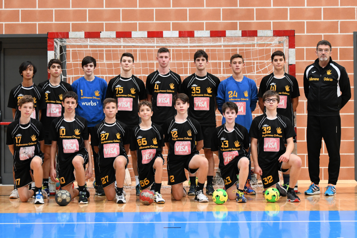 Under 17 Maschile 2018/2019 - Pallamano Oderzo